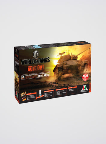 World of Tanks M24 Chaffee Tank Model Kit (1:35)