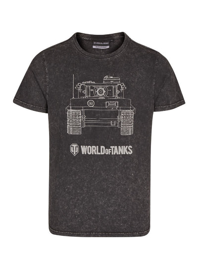 World of Tanks T-shirt Tiger Stone Washed