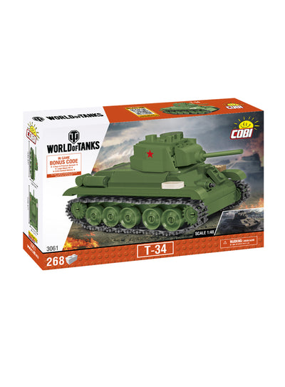 World of Tanks Cobi Blocks T-34 1:48