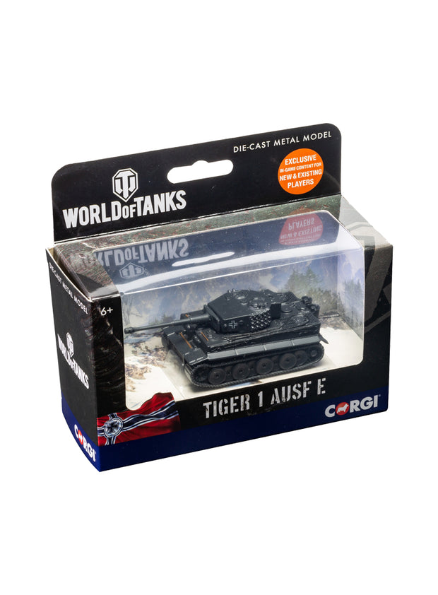 World of Tanks diecast model Tiger I Tank 1:72