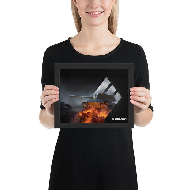 World of Tanks Framed poster Special Edition