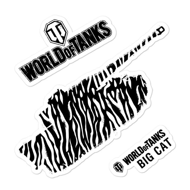 World of Tanks Big Cat stickers