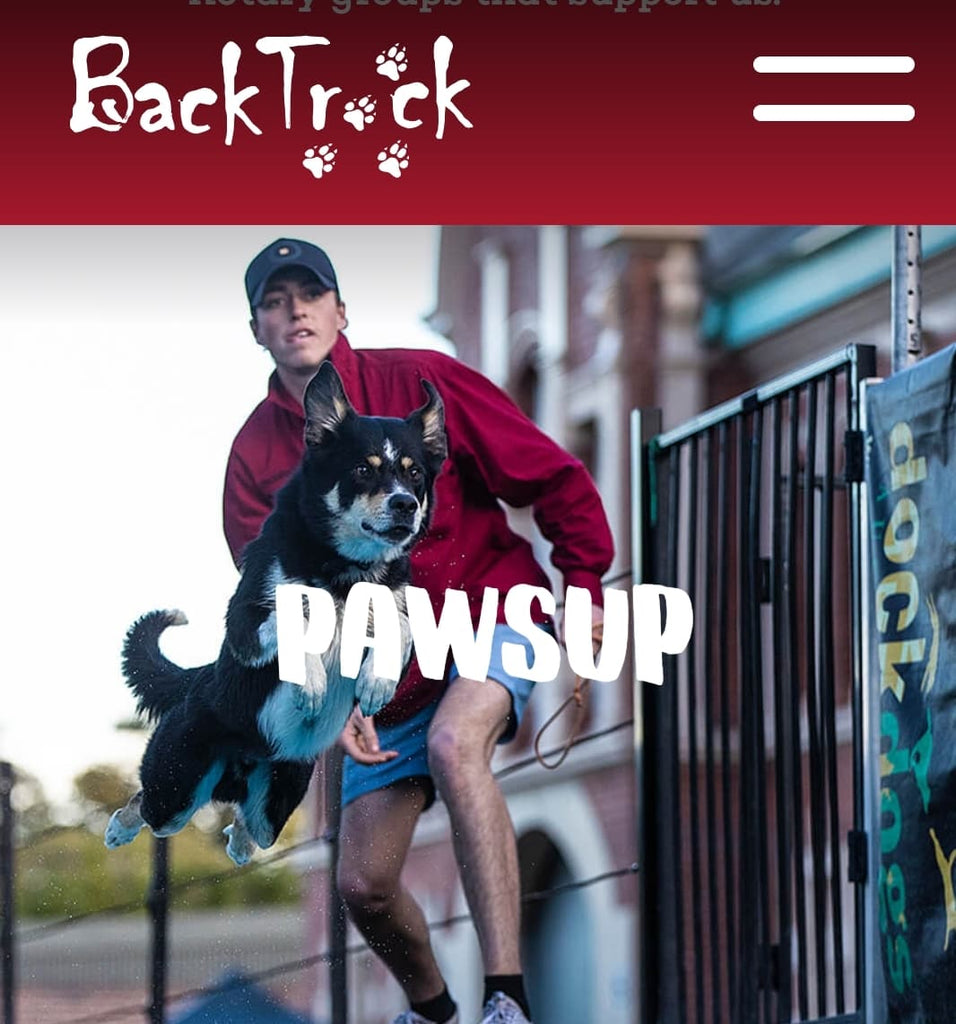 Back Track -  my charity of choice