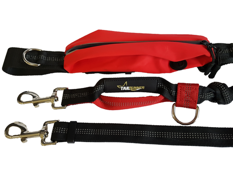 Complete Hands Free System - Two Piece (Belt and Leash)