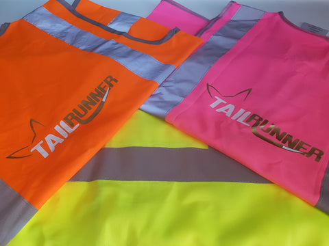 HiVis, (high visibility) Night vest is compliant with Ultra Trail Australia (UTA), Brisbane Trail Ultra and all other Ultra events compulsory gear.