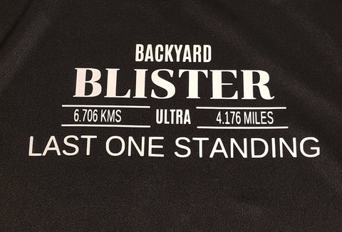 Event Merchandise - Backyard Blister Race T-Shirt