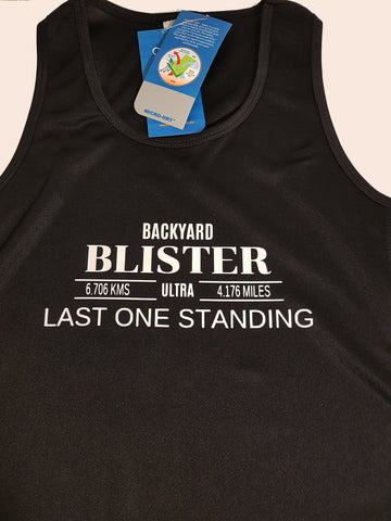 Event Merchandise - Backyard Blister Racer Back Singlet