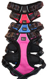 Wide padded chest plate harness, similar to Ezy Dog and Ruff wear, extremely high quality, long lasting and durable