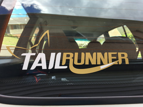 Tail Runner sticker