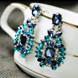 Bejeweled Statement Earrings