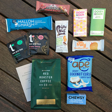 Coffee and chocolate subscription box
