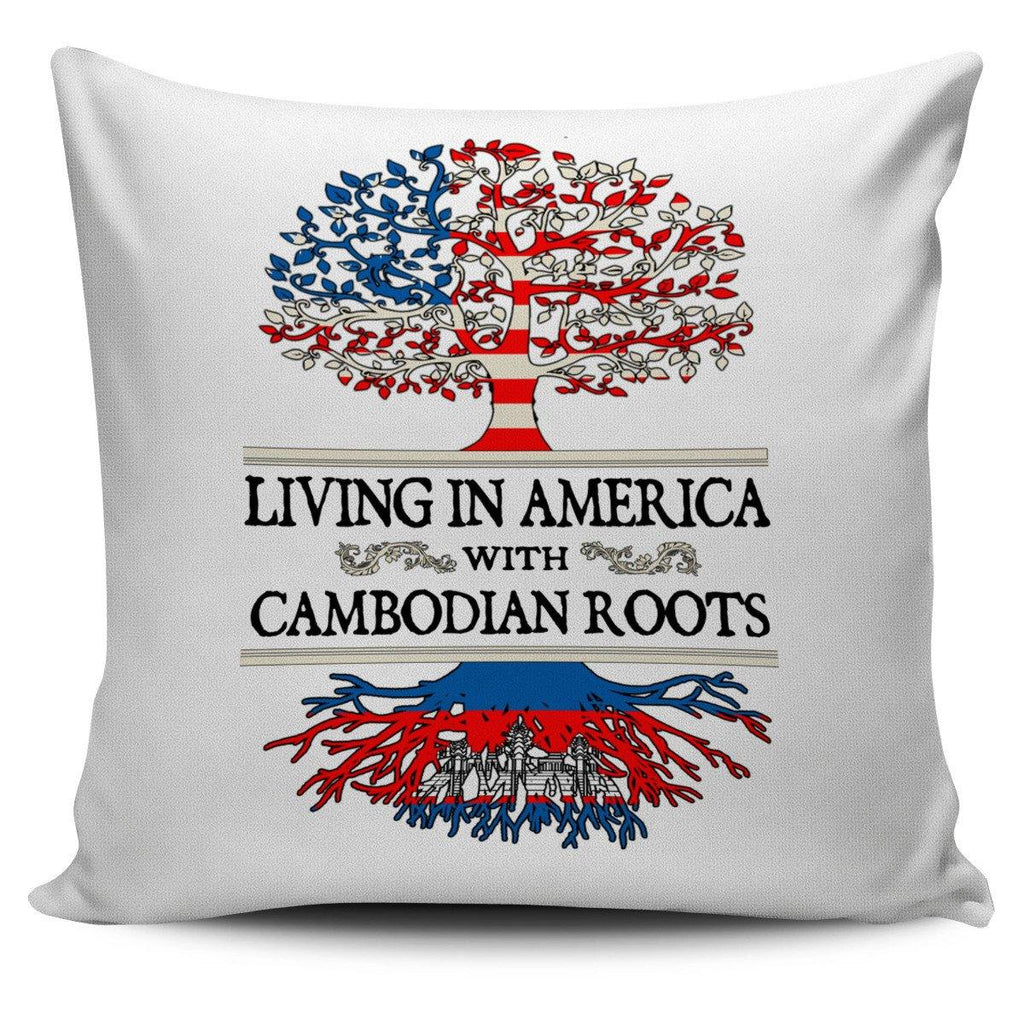 Living in America With Cambodian Roots Pillow Covers