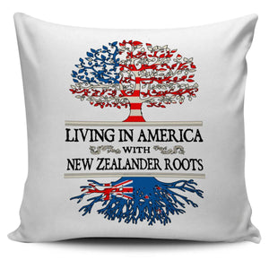 Living in America With New Zealander Roots Pillow Covers !