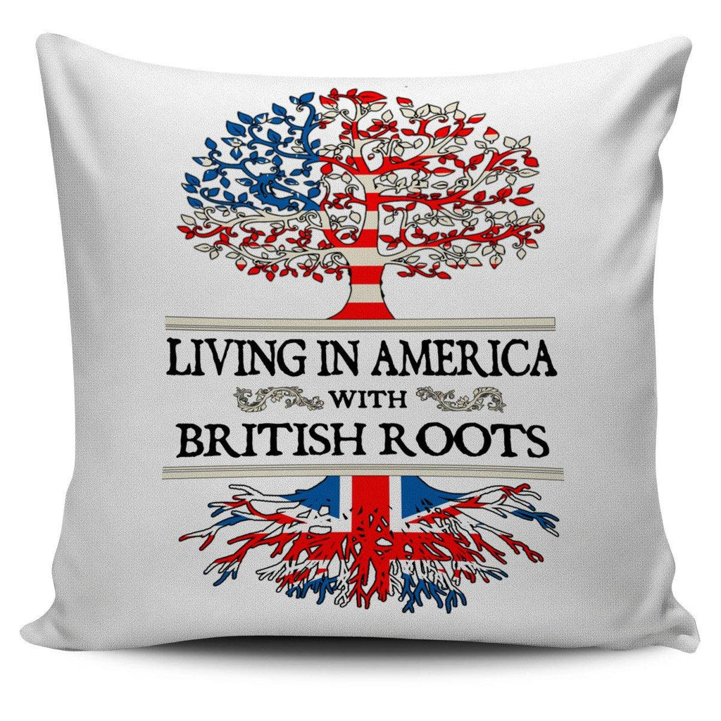 Living in America With British Pillow Covers