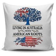 Living in Australia With American Roots  Pillow Covers !