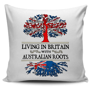 Living in Britain With Australian Roots Pillow Covers !