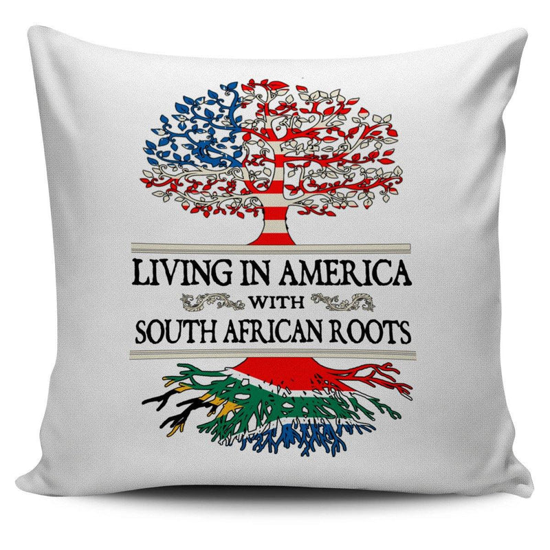 Living in America With South African Roots Pillow