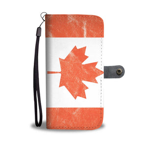 Canada Flag Wallet Phone Cases