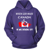 When God Made Canada He Was Showing Off Shirts!
