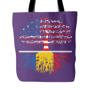 American Grown With Romanian Roots Tote Bag