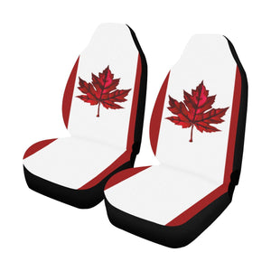 Special Maple Leaf Car Seat Covers (Set Of 2 )