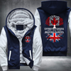 Living in Canada With British Roots Fleece Hoodie
