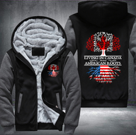 Living in Canada With American Roots Fleece Hoodies !