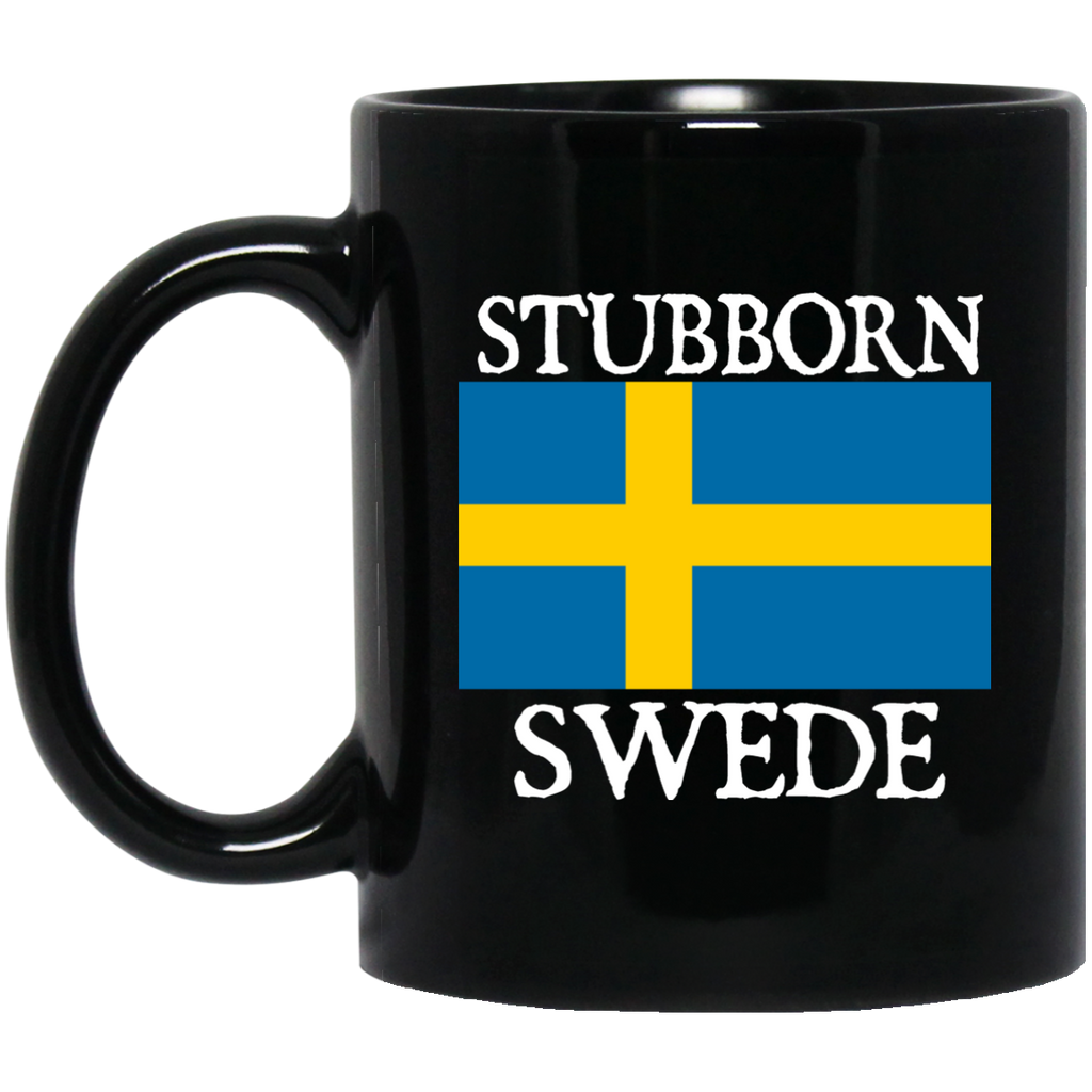 Stubborn Swede Mugs