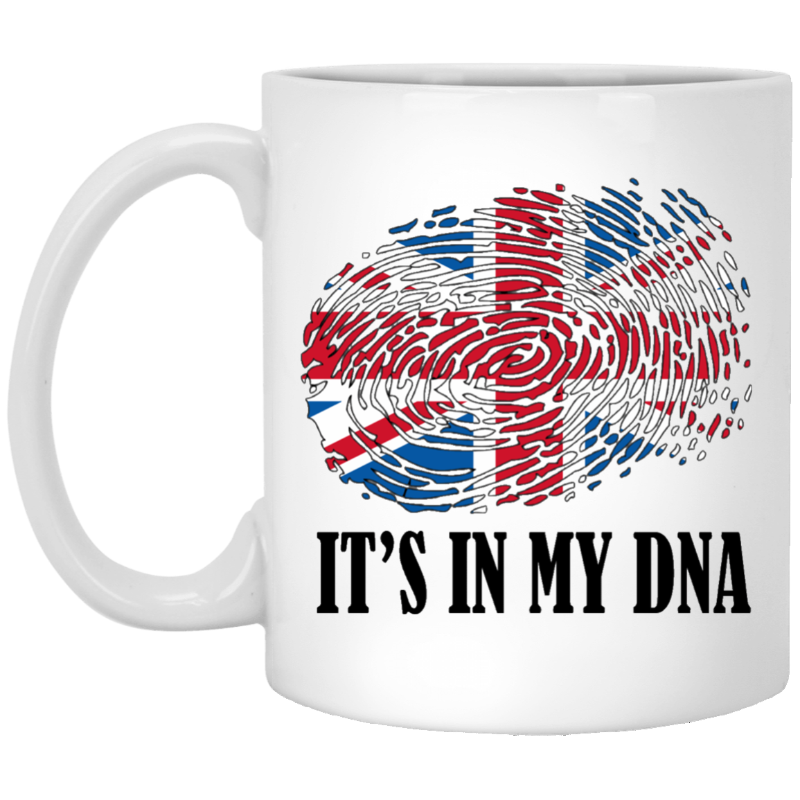 Britain It's in my DNA Mugs