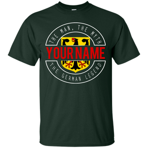 The German Legend Personalized Shirt
