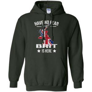 Have No Fear The Brit Is Here T Shirt