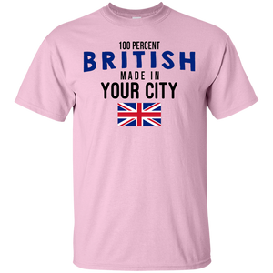 Personalized With Your City/town Shirt in The UK