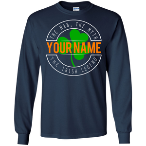 The Irish Legend Personalized Shirt