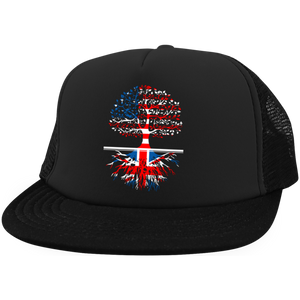 Living in America With British Roots Hats
