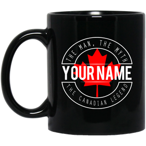 The Canadian Legend Personalized Mug