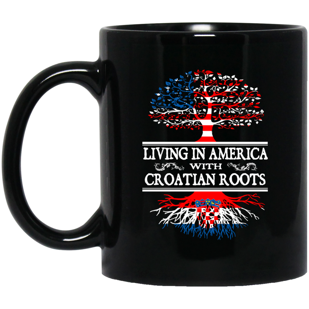 Living in America With Croatian Roots Mug