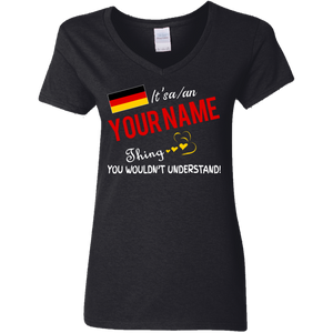 It's a german thing personalized shirt