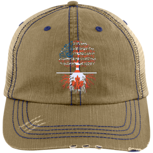 Living in America With Canadian Roots Trucker Cap