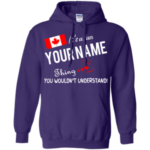 It's a canadian thing personalized shirt