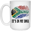 South Africa it's In my Dna Mugs