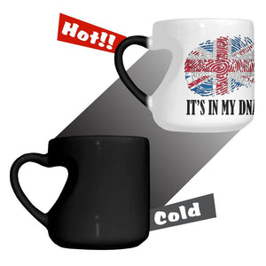Britain It's In My DNA Color Changing Mug