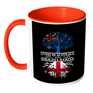 Living in Australia With English Roots Accent Mugs !