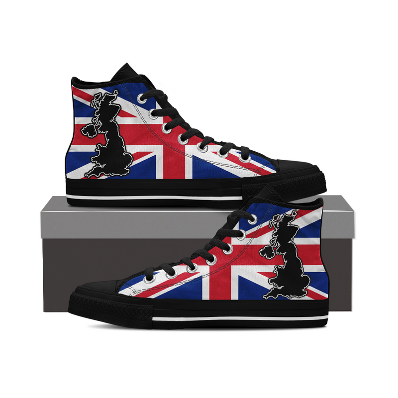 Uk Flag Special Shoes !