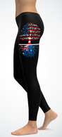 American Australian Roots Leggings