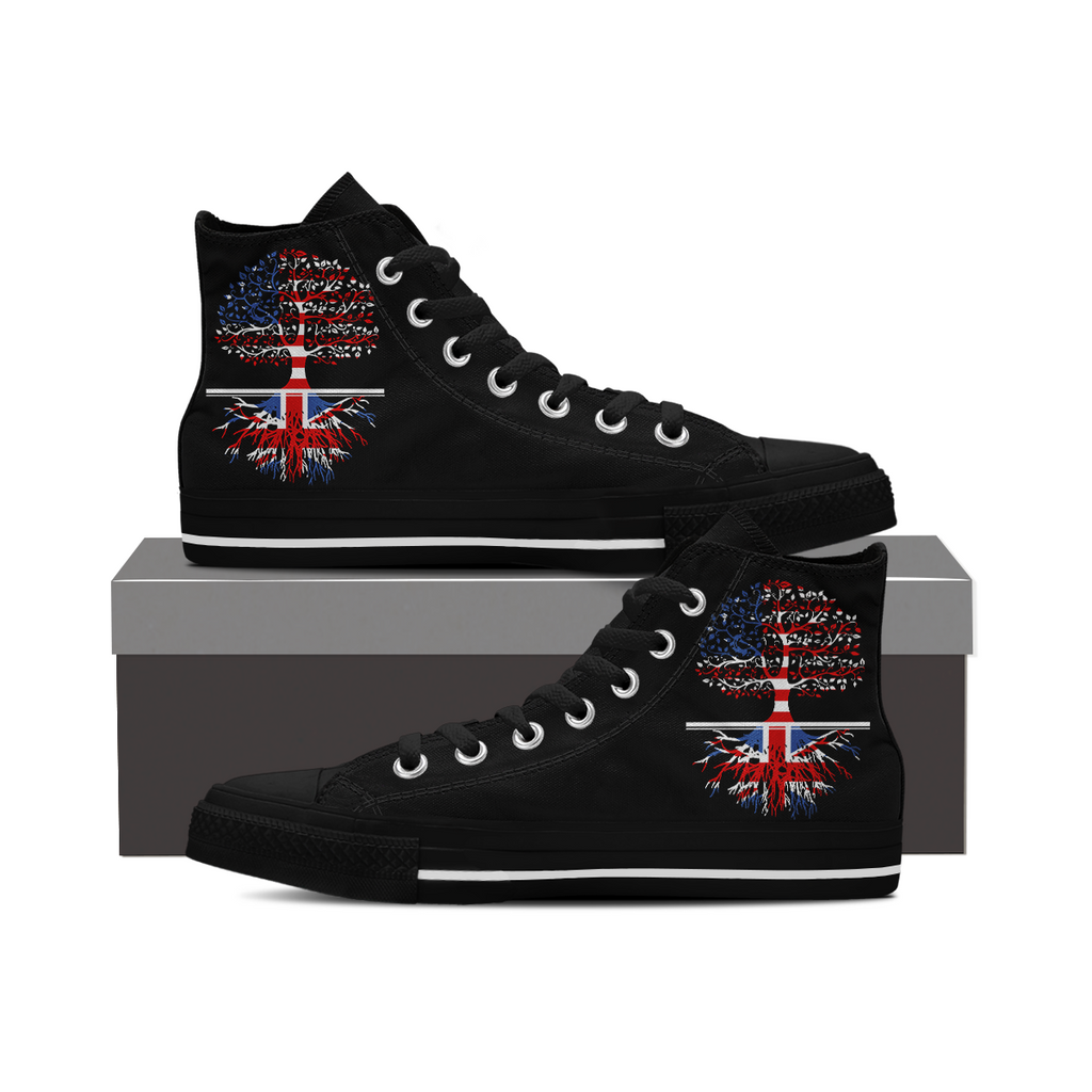 Living in America With British Roots-Shoes