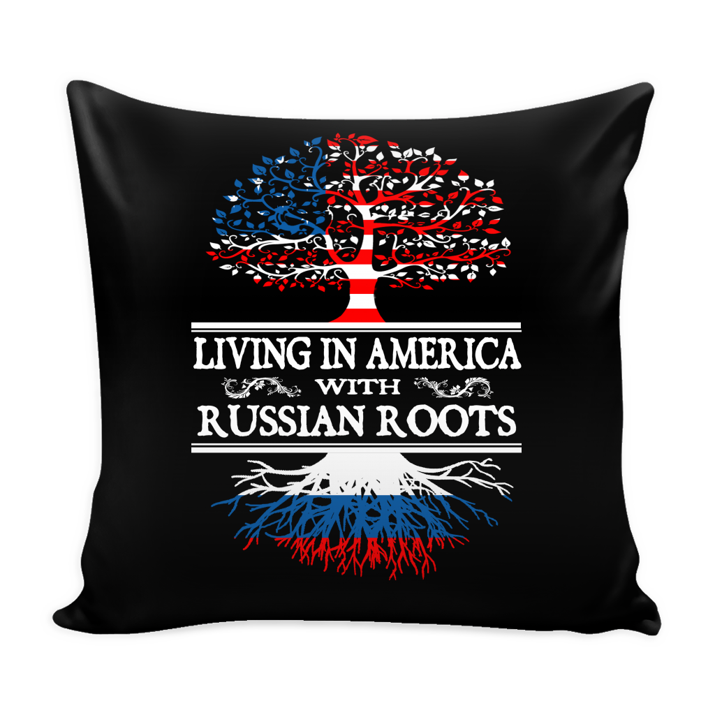 American Russian Pillow Cover