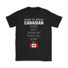 How To Speak Canadian Tees