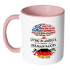 Upsell 2 Living in America With German Roots Accent Mugs !