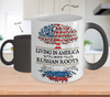 Color Changing Mug-Living in America With Russian Roots ! !