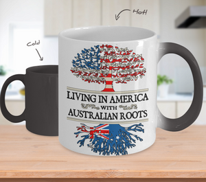 Color Changing Mug-America Australian!